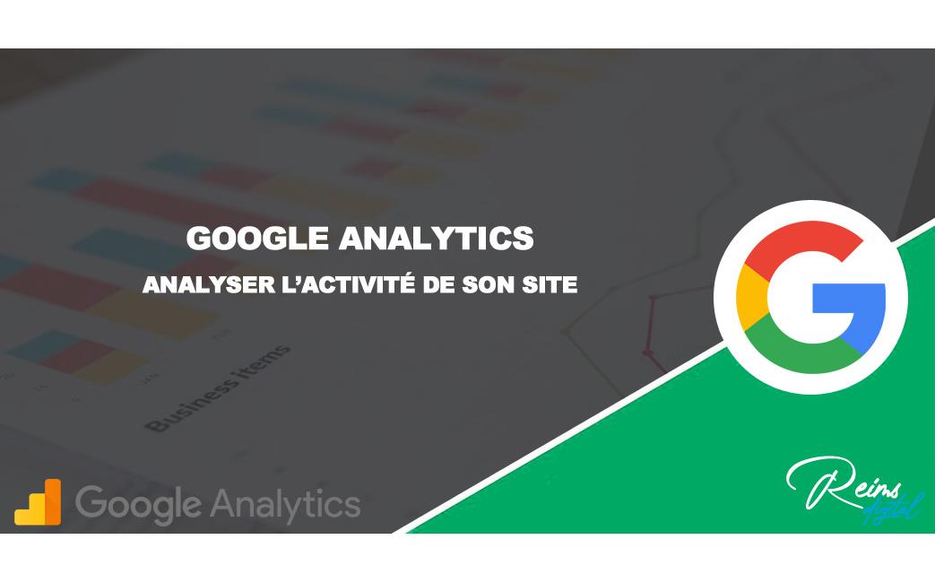 Suivez votre activité avec Google Analytics