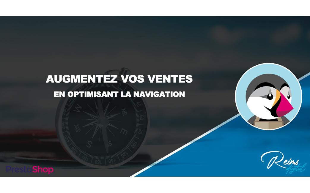 Optimisez votre navigation pour augmenter vos ventes