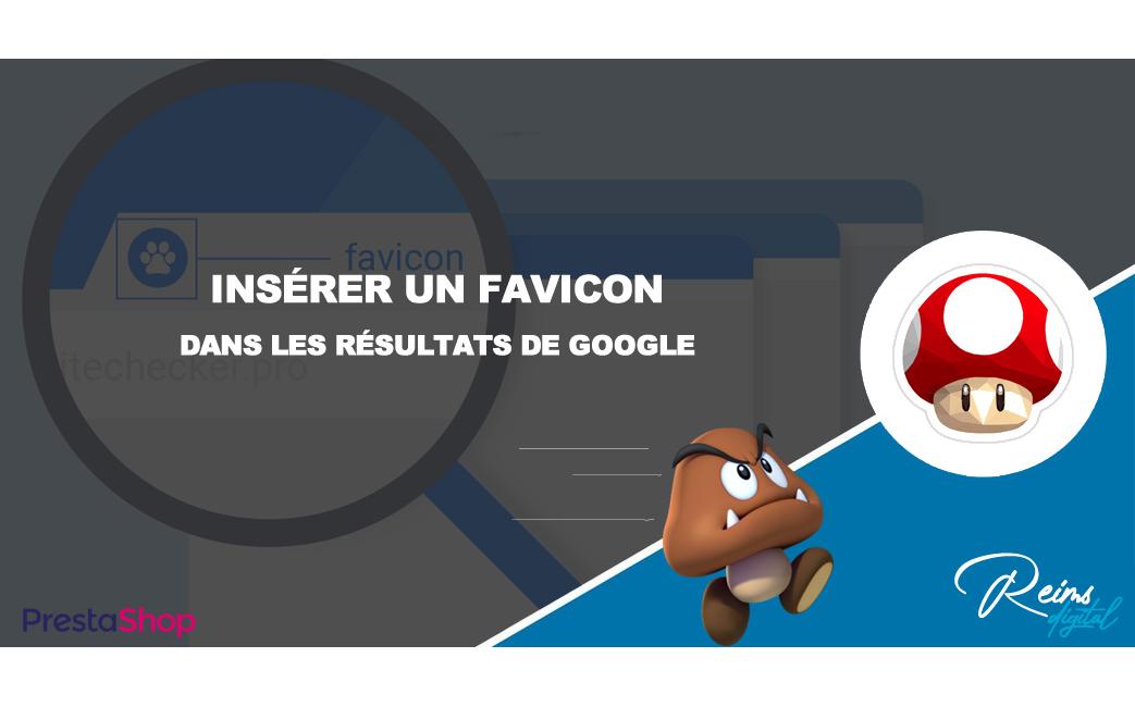 Définir un favicon à afficher dans les résultats de recherche de Google