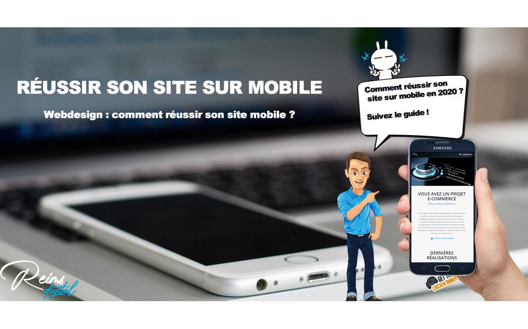 Comment réussir un site sur mobile