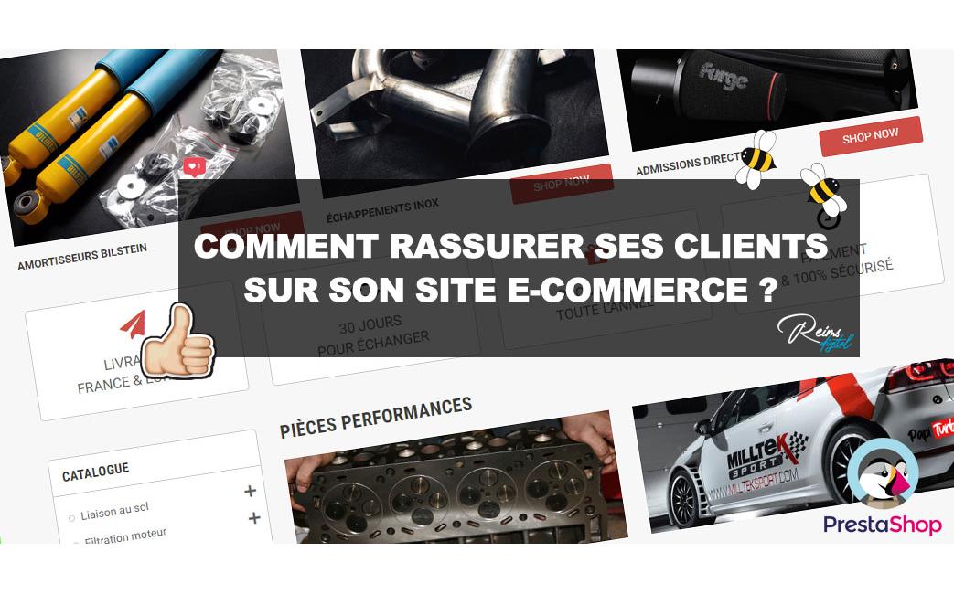 Comment rassurer ses clients sur son site e-commerce ?