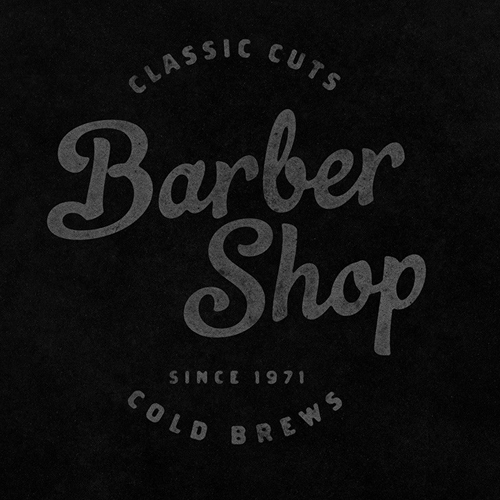 création site vitrine barber shop reims