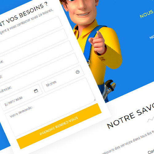 création site internet reims